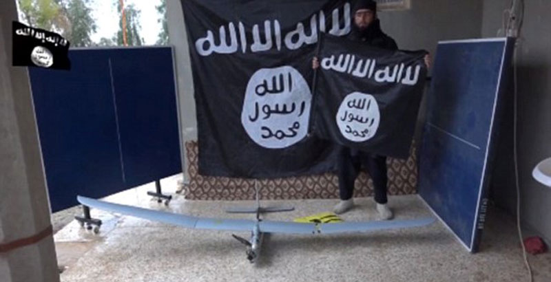ISIS Relies on Drones to Put US-Led Air Force upon Wrong Track
