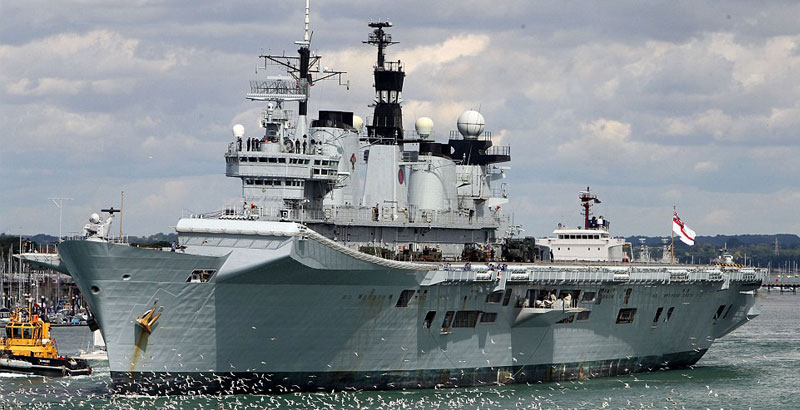 Last British Operational Aircraft Carrier Sold to Recycling Company