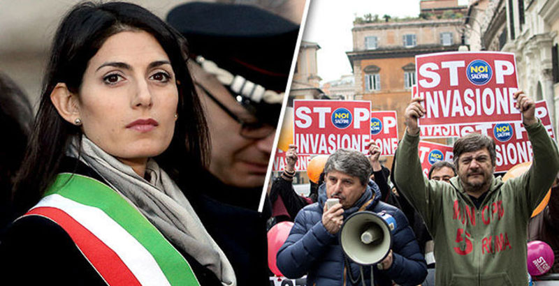 Rome on Verge of War between Migrants & the Poor – Rome Mayor