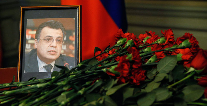 New York Daily News Calls Murder of Russian Ambassador 'Accomplished Justice'