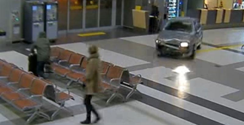 Crazy GTA Style Race Inside Kazan Airport, Russia (FULL VIDEO)