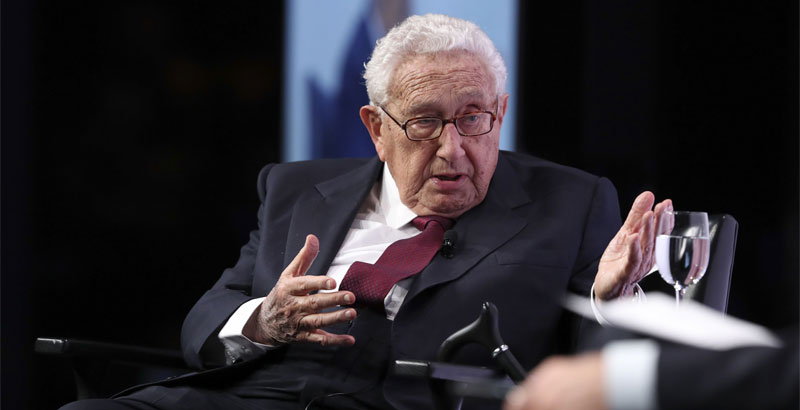 Mainstream Media Found Out 'Kissinger's Plan' for Trump's Reconciliation with Russia