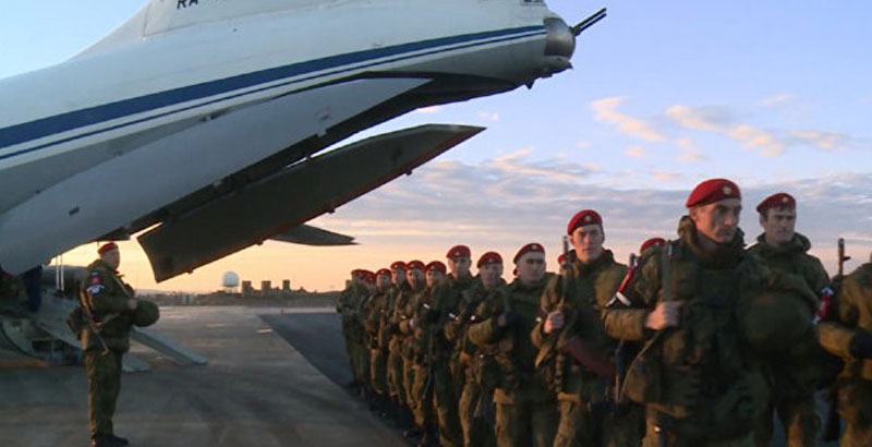 Russian Military Police Officially Deployed to Aleppo (Video)