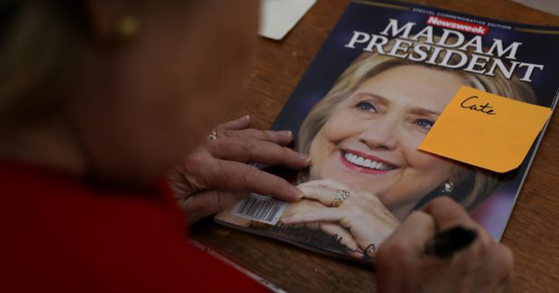 Fake News: Newsweek Admits They Didn't Proof Read 'MADAM PRESIDENT' Issue; They Didn't Even Write It