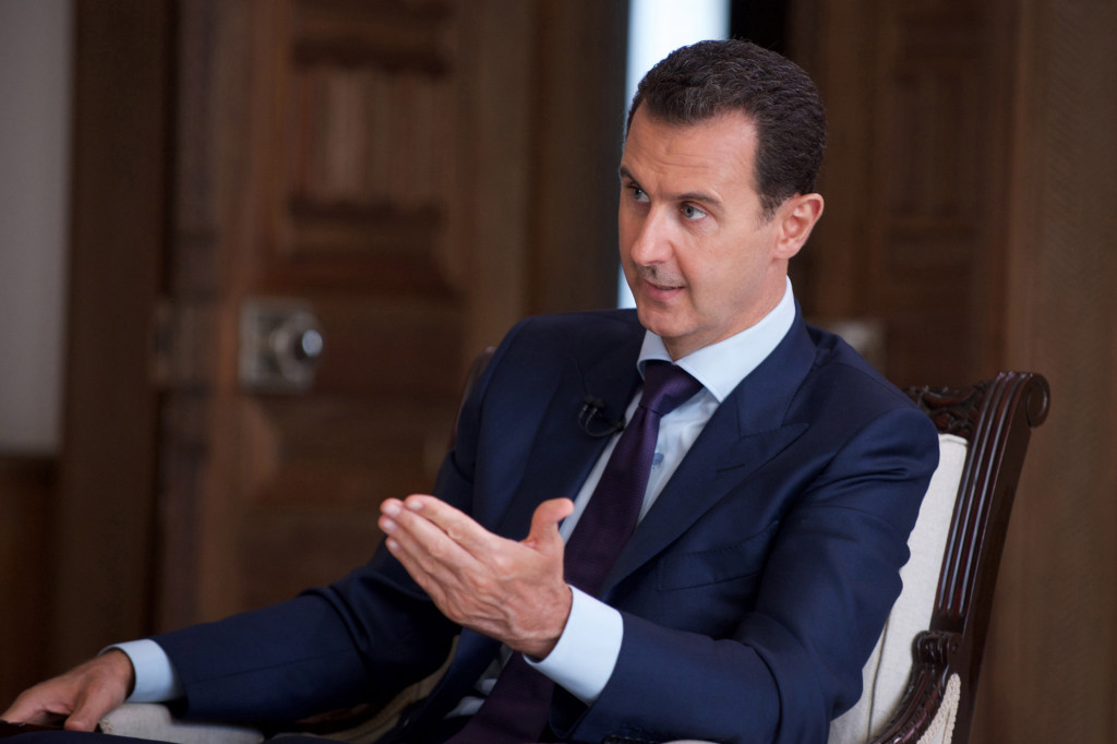 Syrian President Says ISIS Terrorists Seized Palmyra With US Support
