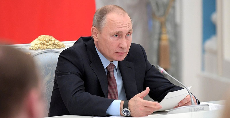 Situation in Palmyra Is Result of Discordant Actions – Putin
