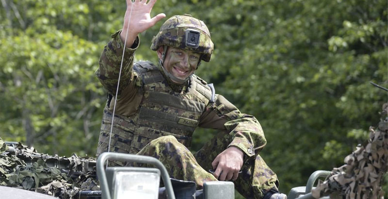 NATO Workdays: Lithuanian Troops Shelled German Allies