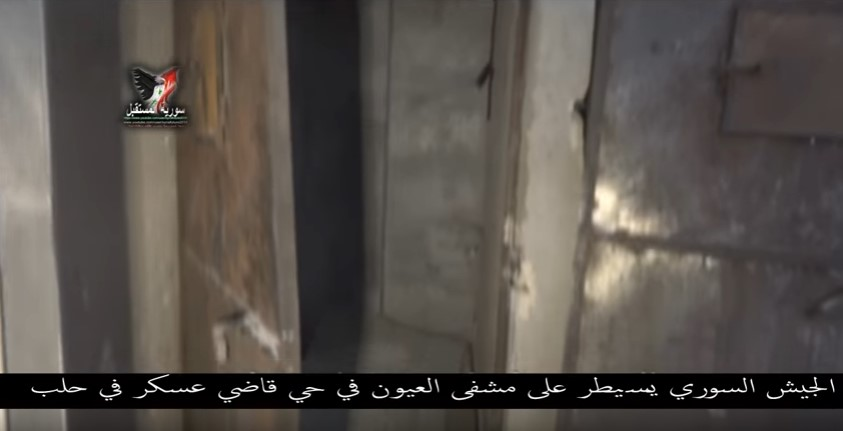 """""""Moderate Opposition"""" Turned Aleppo's National Hospital Into Military HQ & Weapon Depot (Video)"""