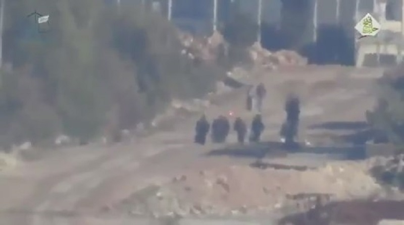 Footage: 'Moderate Rebels' Fire US-Supplied Anti-Tank Missile On Civilians Walking On The Street In Southern Aleppo