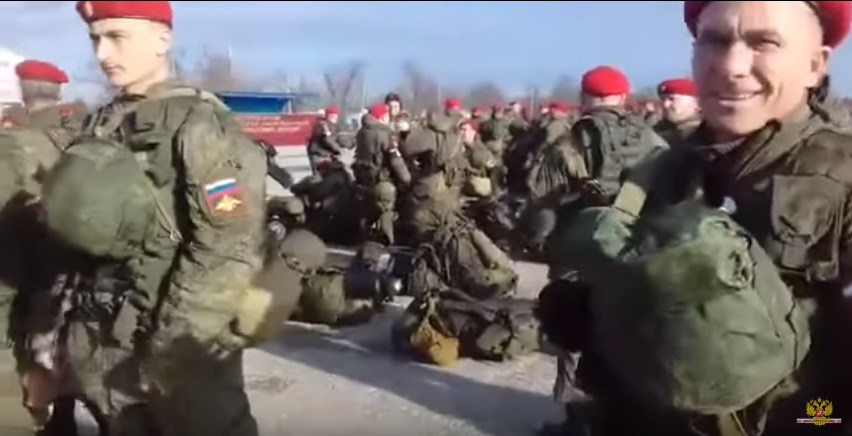 Russia Deploys Military Police From Its Republic Of Chechnya To Syria's Aleppo (Video)