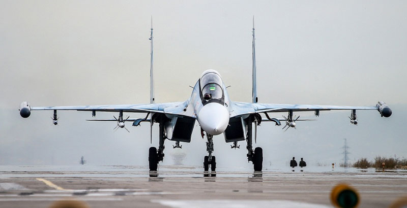 Russian Su-30SM Fighter Jets to Cover Barents Sea