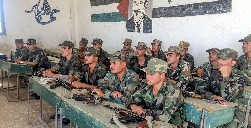 How Syrian Soldiers Are Prepared at Training Center – Look from Inside