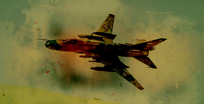 Syrian Air Force Destroys Big ISIS Convoy near Deir ez-Zor