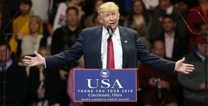 Donald Trump Promises to Stop US Overthrowing of Governments