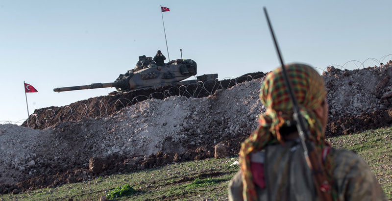 Turkey Forcefully Recruits Refugees for Military Operations in Northern Syria