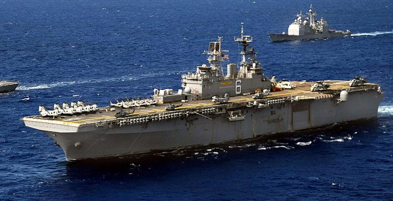US Deploys More Marines & Warships in Mediterranean