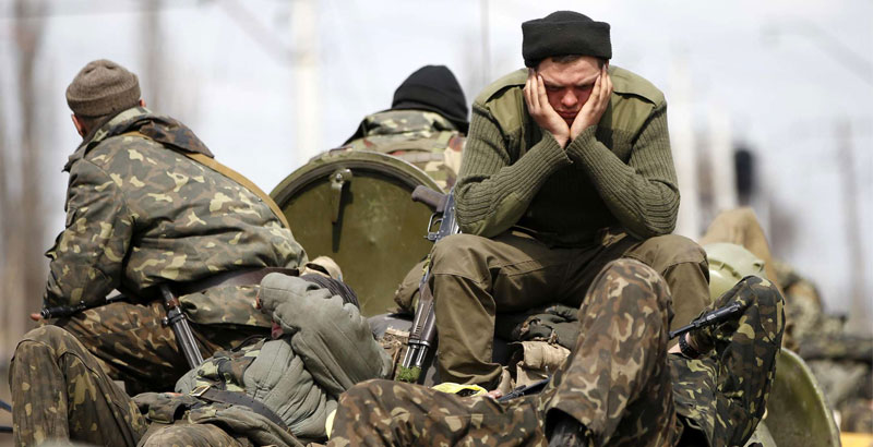 Soldiers Massively Desert from Ukrainian Army
