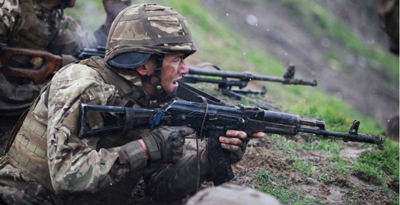 Ukrainian Soldiers Shot Each Other on Military Base in Southern Ukraine