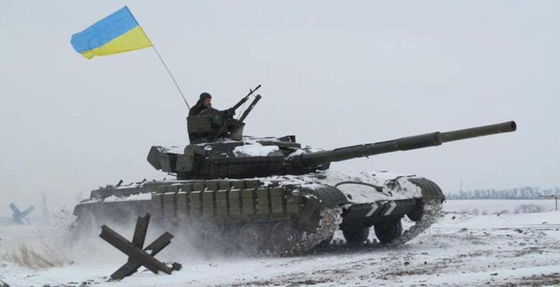 Heavy Clashes Continue between Ukrainian Army & Local Militia in Donbass Region