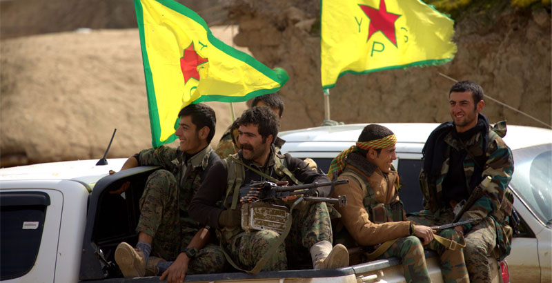 YPG Forces Aim to Take Euphrates Hydroelectric Station