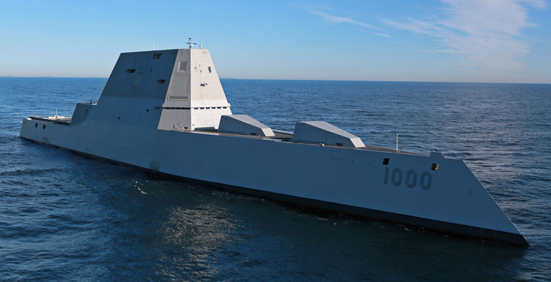 National Review Calls USS Zumwalt Destroyer 'Unmitigated Disaster'