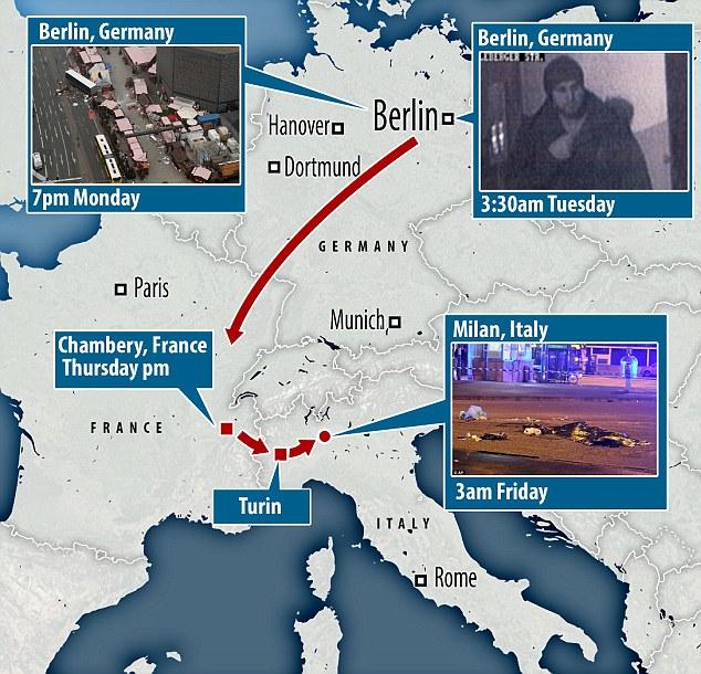 Euroskeptics Enraged at Europe's Open Borders after Details of Berlin Killer's Trip Emerge