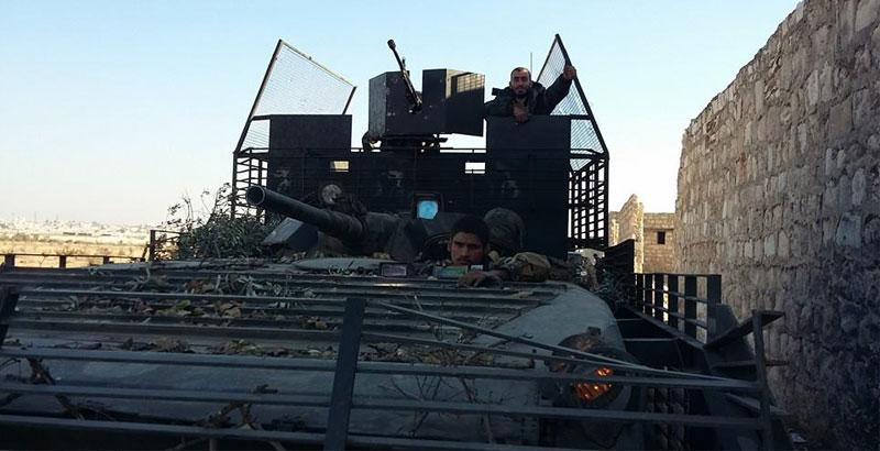 Desert Hawks Brigade Uses Exotic Version of Infantry Combat Vehicles (Photo)