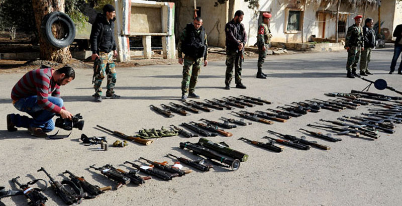Syrian Govt Pardoned 150 Militants Surrendered in Damascus Countryside