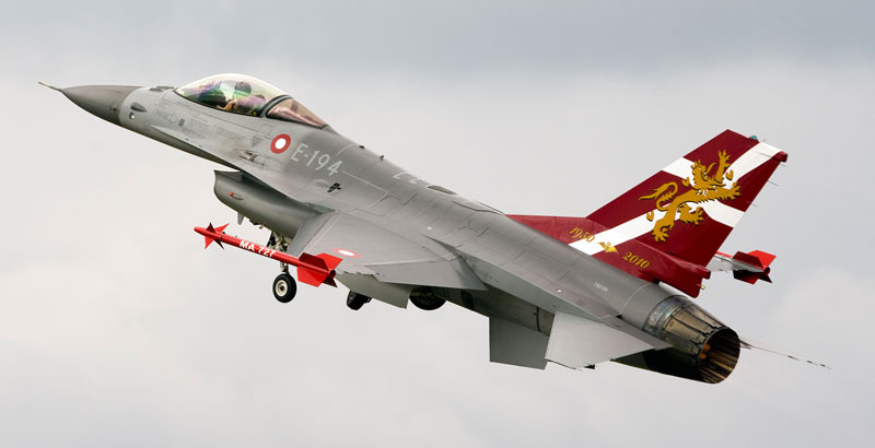 US-led Coalition Collapses: Denmark Pulls F-16 Jets