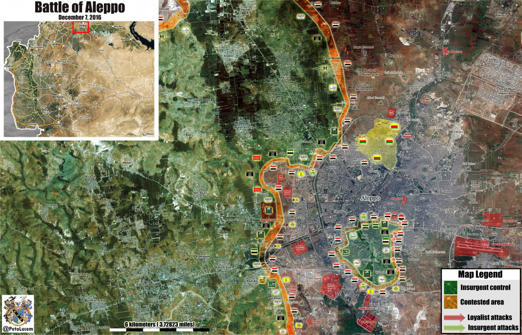 As Jihadi Resistance Crumbles In Aleppo Western Powers Play Diplomatic Games