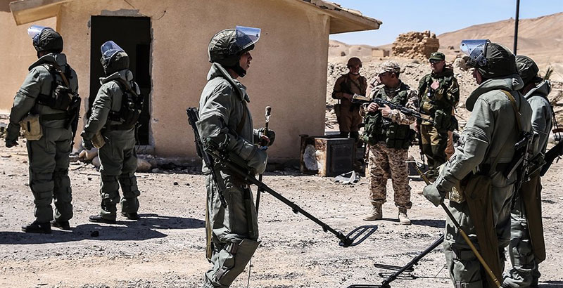 Russian Sappers Dispatched to Syria to Demine Aleppo City