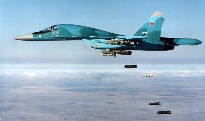 Russian Jets Light Up ISIS Terrorists Near Palmyra