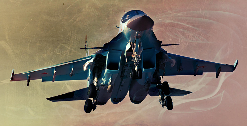 Russian Air Power Delivers Airstrikes in Provine of Idlib