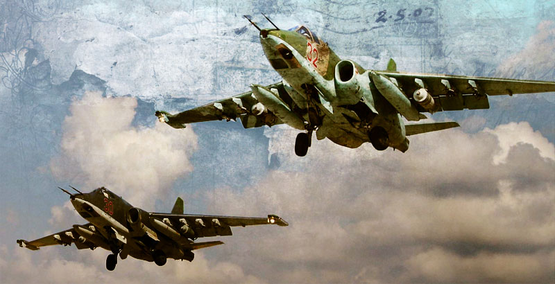 Syrian Army & Air Force Hit Terrorists' Positions in Hama & Idlib