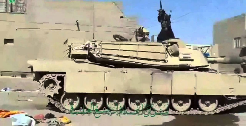 ISIS Terrorists Wheel Out Dummy Tanks in Iraq