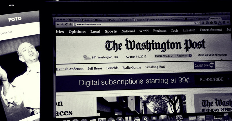 """Washington Post Appends """"Russian Propaganda Fake News"""" Story, Admits It Maybe Fake"""