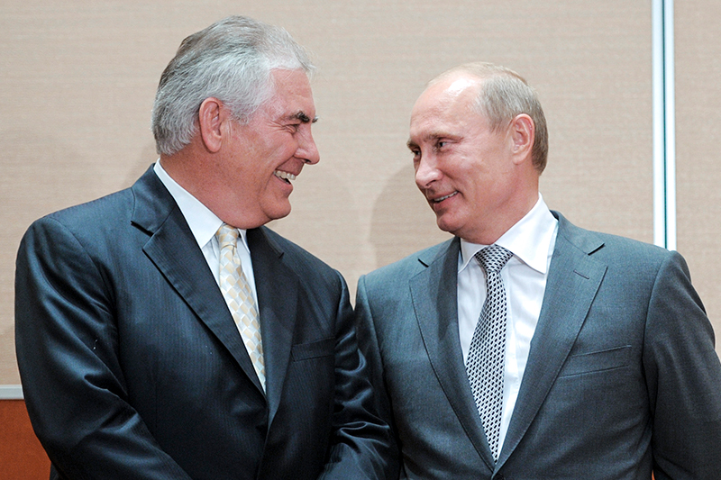 Trump, Tillerson, and Russia: Opinion