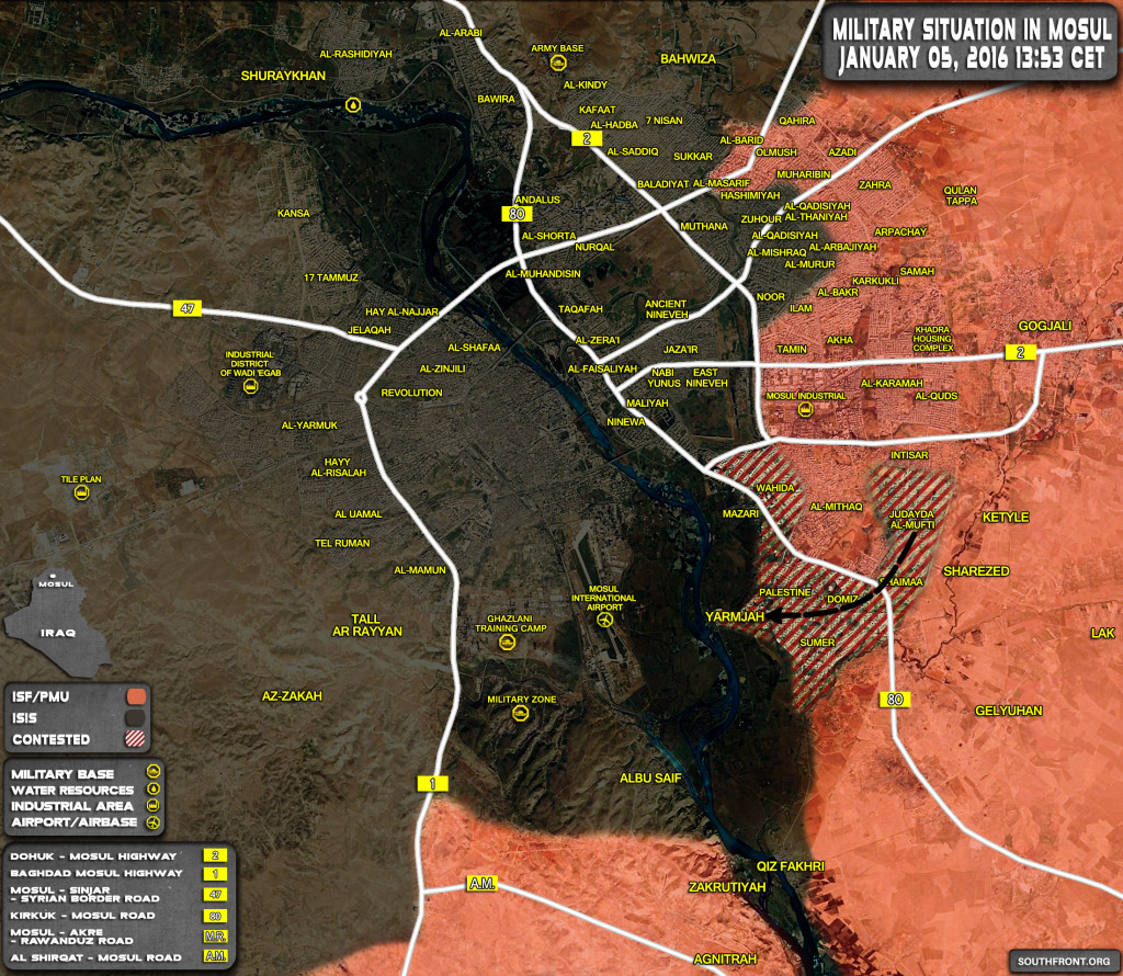 Iraqi Forces Make Gains Against ISIS In Eastern Mosul (Map Update)