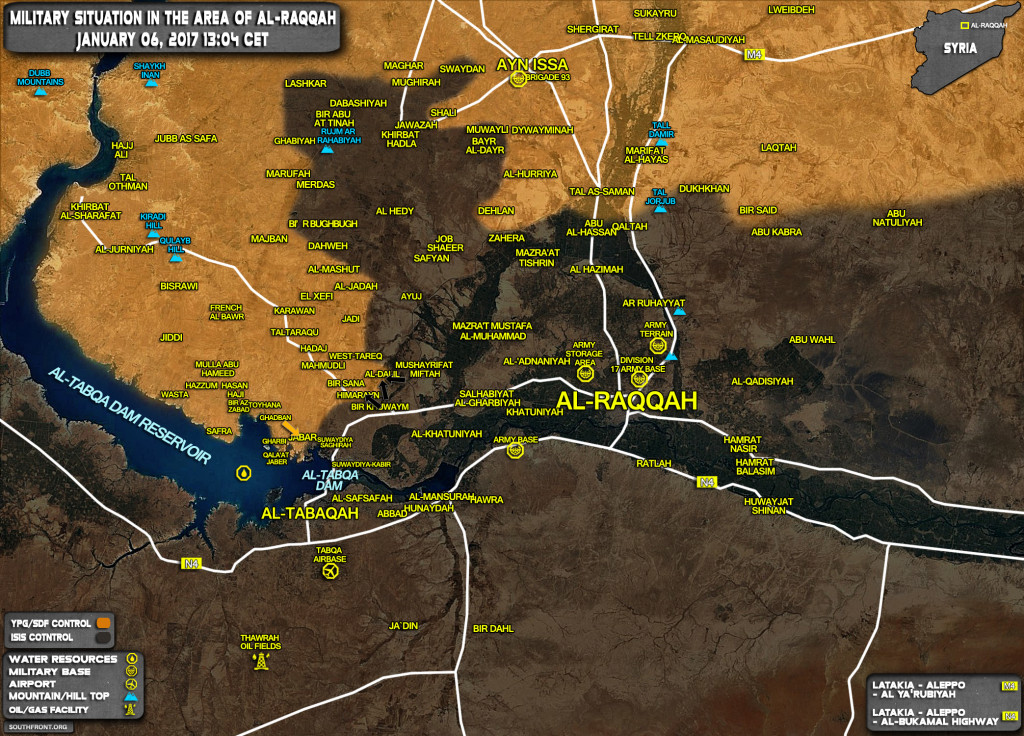 ISIS Launches Counter-Attack Against YPG Forces West Of Raqqah