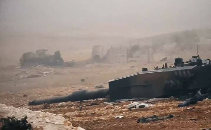 ISIS Releases More Photos Of Turkish Military Hardware Captured Or Destroyed In Clashes For Al-Bab