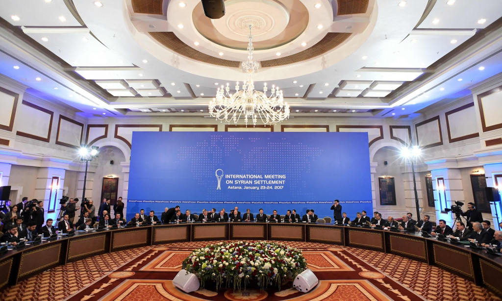 Talks Between Syrian Government And 'Opposition' Kick Off In Kazakhstan