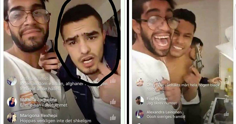 Sweden: Immigrants Arrested After 'Gang-Raping Woman on Facebook Live