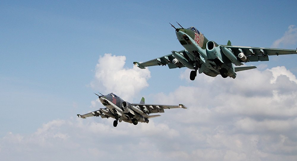 At Least 30 ISIS Terrorists Killed And Wounded In Russian Airstrikes In Dier Ezzor