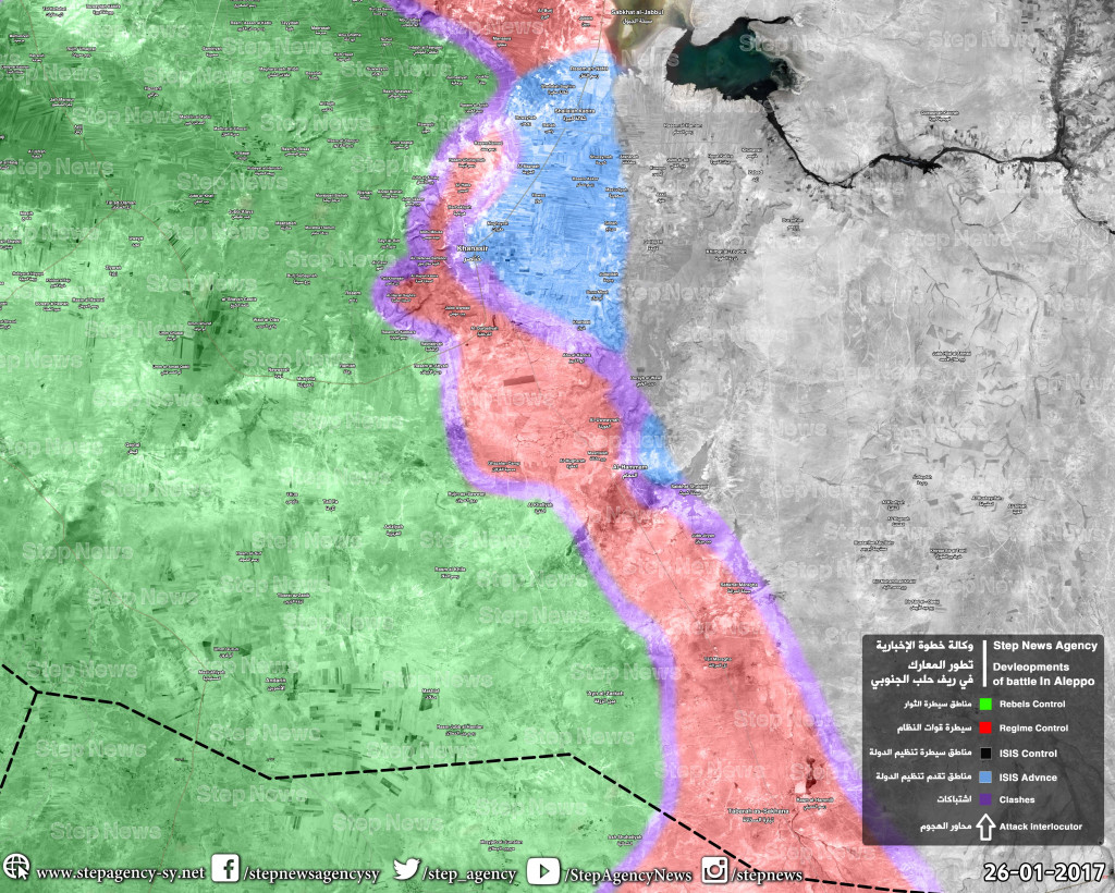 ISIS Launches Large-Scale Advance Near Khanaser Aiming To Cut Road To Aleppo City - Reports