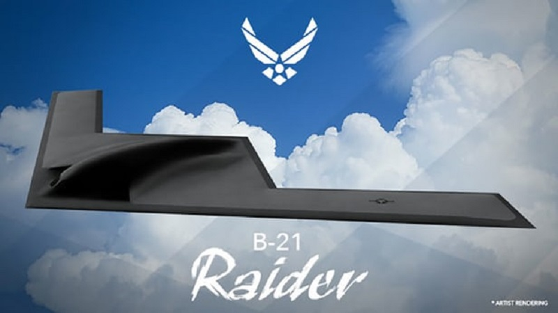 "Chinese Searching For Flaws In The US Air Force's B-21 ""Raider"" Strategic Bomber"