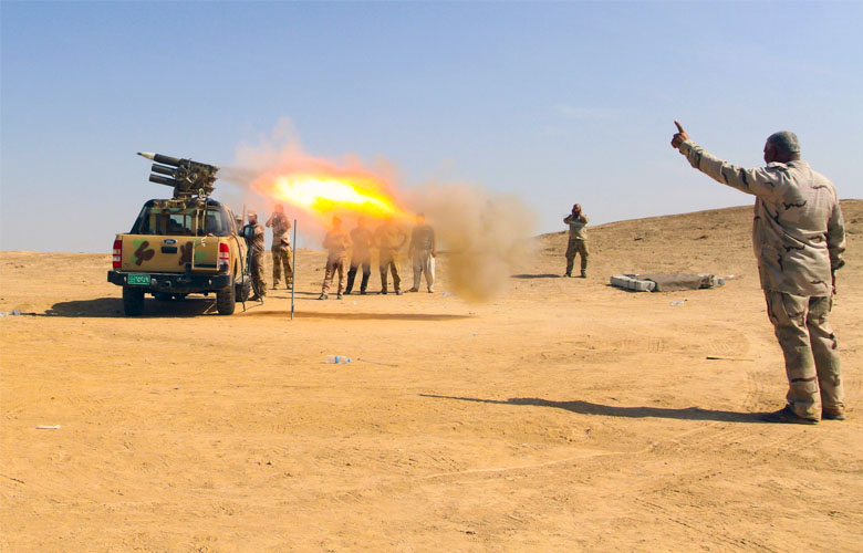 Over 50 ISIS Members Killed By Iraqi Forces In Attempt To Cross Syrian-Iraqi Border