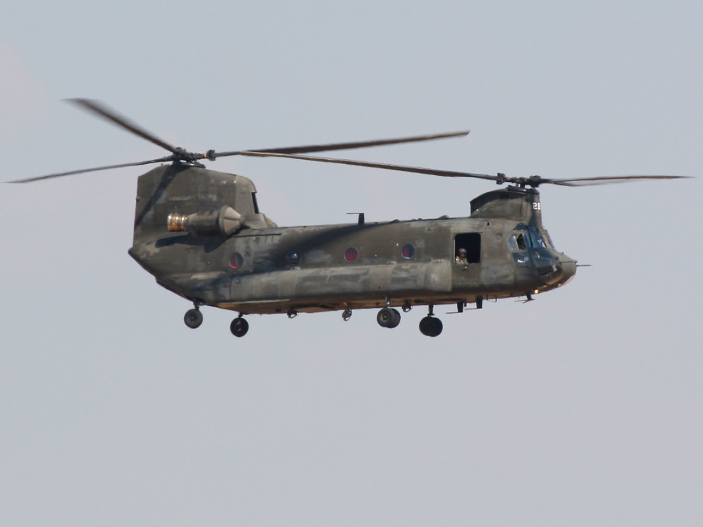 US Helicopter Lands In ISIS-Controlled Part Of Iraq - Reports