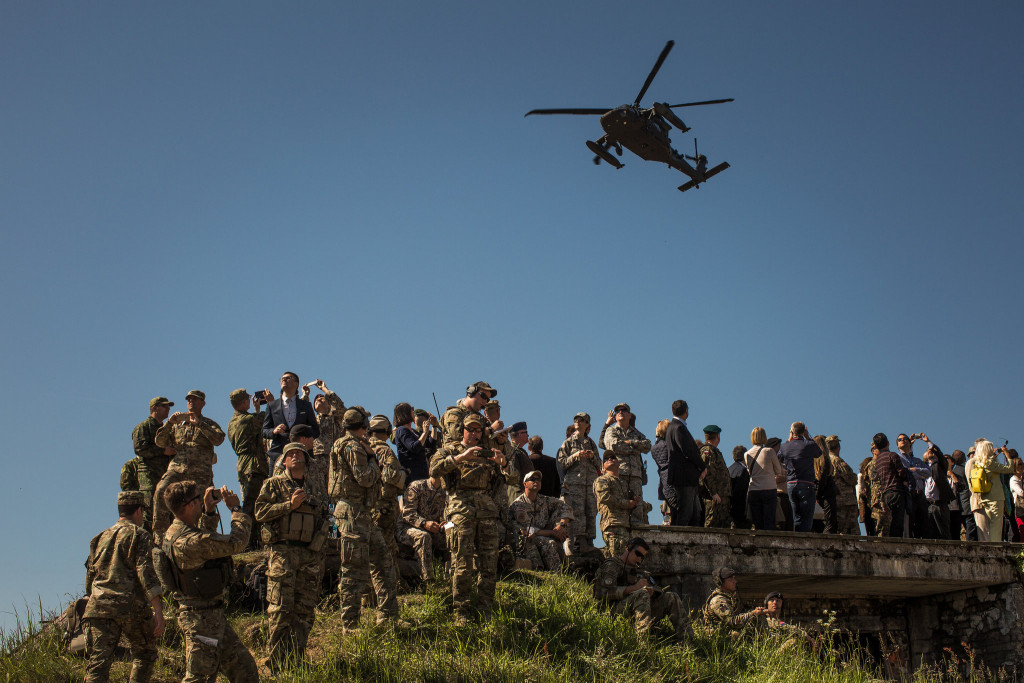 US Deploys Special Operations Forces To Russia's Border