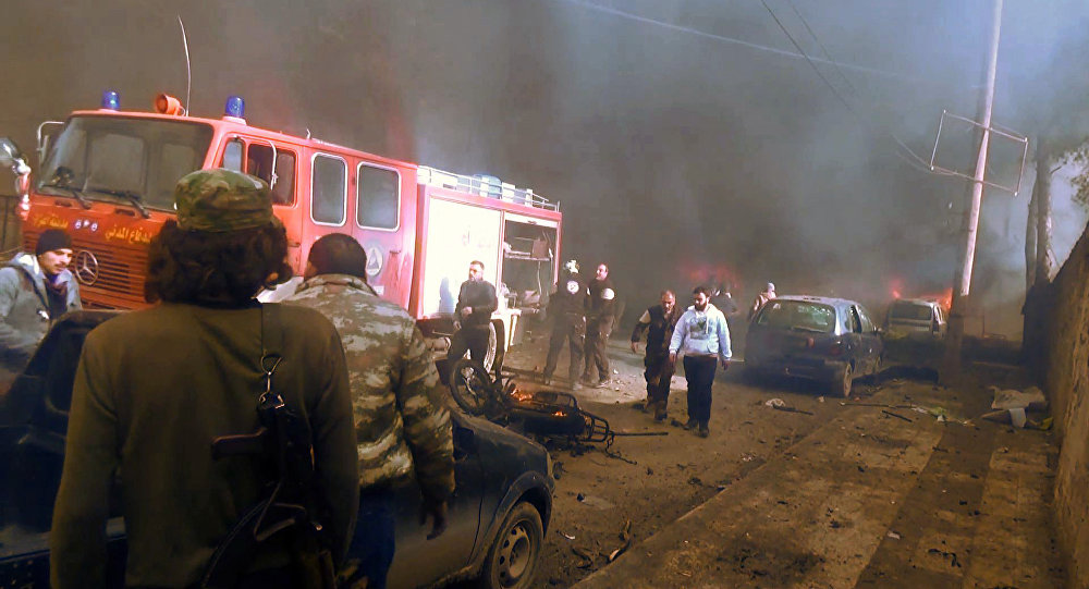 Up To 60 Killed As Result Of Car Bomb Attack In Syrian Border Town Of Azaz