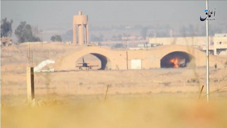ISIS Destroyed 2 Syrian Warplanes In Deir Ezzor Airport (Photos)